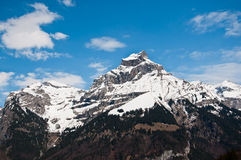 Mount Hahnen of Urner Alps Royalty Free Stock Images