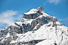 Mount Hahnen of Urner Alps Royalty Free Stock Image