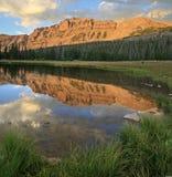 Mount Hayden reflection Stock Image