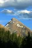 Mount Hector. In Banff National Park, Alberta, Canada Stock Images