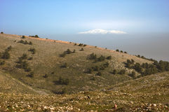 Mount Hermon Royalty Free Stock Photos