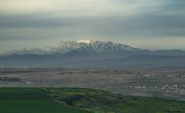 Mount Hermon Stock Image