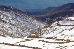 Mount Hermon  . Stock Photo