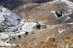 Mount Hermon in the winter . Stock Photography