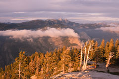 Mount Hoffman at Sunset Royalty Free Stock Photo