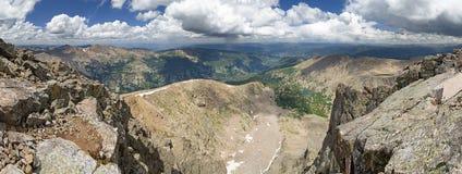 Mount Holy Cross Summit Panorama Royalty Free Stock Photo