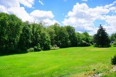 Mt Holyoke College campus landscape Stock Image