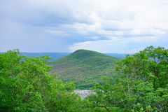 Mount Holyoke Range State Park landscape. Mount Holyoke Range State Park. Mount Holyoke Range State Park is a state-owned, public recreation area encompassing Stock Image