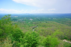 Mount Holyoke Range State Park landscape. Mount Holyoke Range State Park. Mount Holyoke Range State Park is a state-owned, public recreation area encompassing Stock Photo