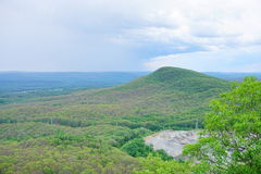 Mount Holyoke Range State Park. Is a state-owned, public recreation area encompassing the eastern half of the Holyoke Range in the Pioneer Valley region of Royalty Free Stock Photos