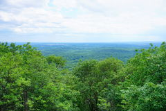 Mount Holyoke Range State Park. Is a state-owned, public recreation area encompassing the eastern half of the Holyoke Range in the Pioneer Valley region of Stock Photo