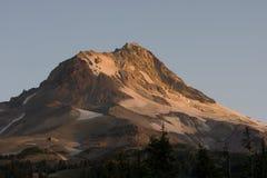 Mt Hood Alpine Mountain Geology Glacier Snow Stock Photos