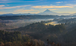 Mount Hood from Jonsrud viewpoint. Stock Images