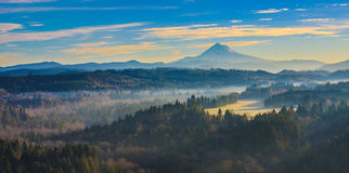 Mount Hood from Jonsrud viewpoint Royalty Free Stock Image