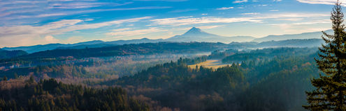 Mount Hood from Jonsrud viewpoint Royalty Free Stock Photo