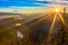 Mount Hood from Jonsrud viewpoint Stock Images