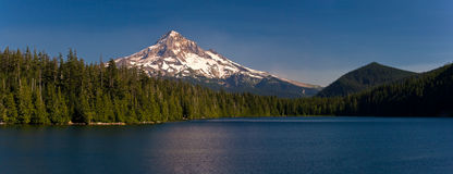 Mount Hood and Lost Lake, Oregon stock photo