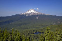 Mount Hood and Mirror Lake 2 Royalty Free Stock Images