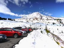 Mount Hood National Park, Timberline Lodge, Scenic Road, Oregon Royalty Free Stock Image