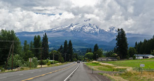 Mount Hood near Portland in Oregon Royalty Free Stock Image
