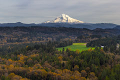 Mount Hood over Barlow Trail Route Stock Images