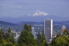 Mount Hood in Portland, Oregon Royalty Free Stock Photos