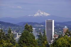 Mount Hood in Portland, Oregon. USA royalty free stock photos