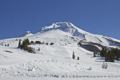 Mount Hood Ski Slope 3 Stock Photo