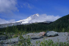 Mount Hood summit Stock Photography