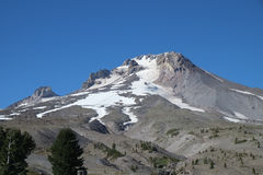 Mount Hood Summit, Oregon, USA Royalty Free Stock Images