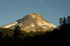 Mount Hood at Sunrise Royalty Free Stock Photos