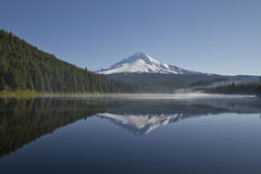 Mount Hood at Trillium Lake Stock Photos