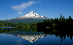Mount Hood and Trillium Lake Stock Photos