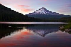 Mount Hood at Trillium Lake 4 stock photography