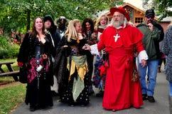 Mount Hope, PA: Pennsylvania Renaissance Faire Stock Photo