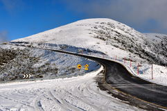 Mount Hotham winter Stock Image