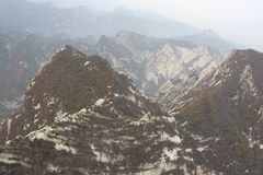 Mount Hua Royalty Free Stock Photo