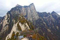 Mount Hua Royalty Free Stock Image