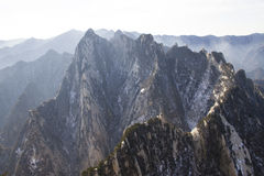 Mount Hua Stock Photography