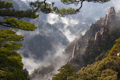 Mount Huang, China stock images