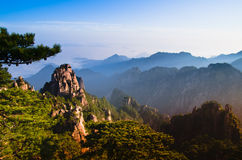 Mount huangshan Stock Photography