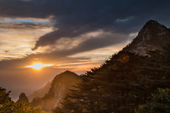 Mount Huangshan, China royalty free stock image