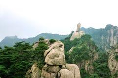 Mount Huangshan flying Stock Image