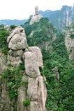 Mount Huangshan flying Stock Image