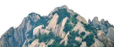 Mount Huangshan Lotus Peak Royalty Free Stock Images