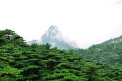 Mount Huangshan Lotus Peak Stock Images