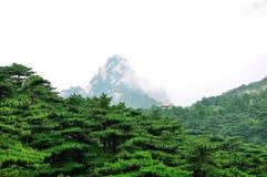 Mount Huangshan Lotus Peak stock images