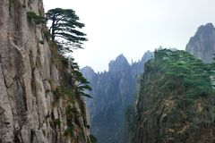 Mount Huangshan Royalty Free Stock Photography