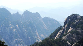 Mount Huangshan. Mountain, the world natural and cultural heritage, the world geological park, one of the top ten scenic spots and historical sites in China Stock Image
