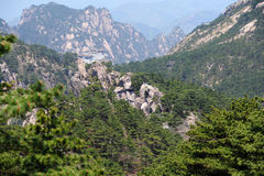 Mount Huangshan. Mountain, the world natural and cultural heritage, the world geological park, one of the top ten scenic spots and historical sites in China Royalty Free Stock Photos